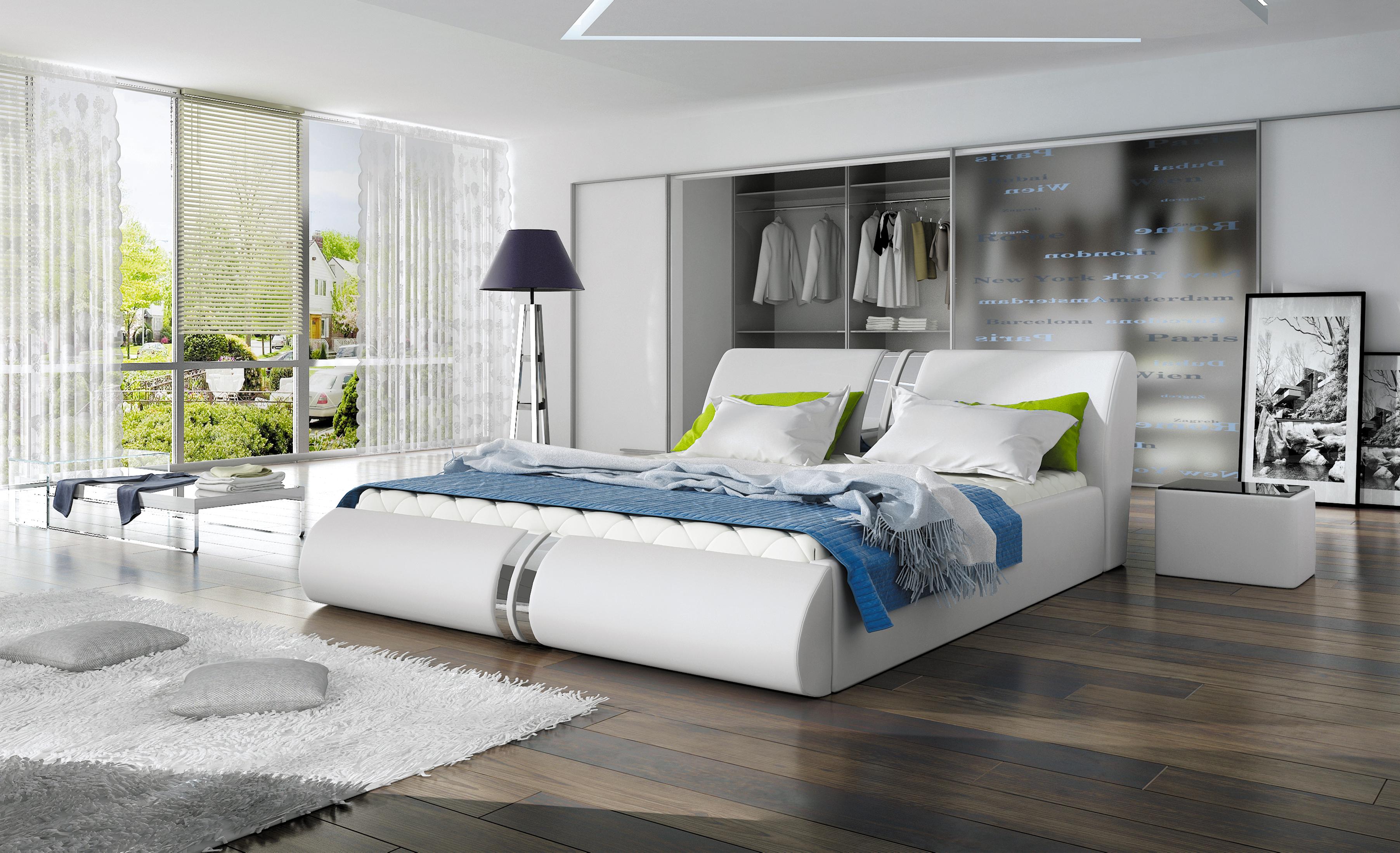 łóżko Tapicerowane Nowoczesne Calisto 160x200