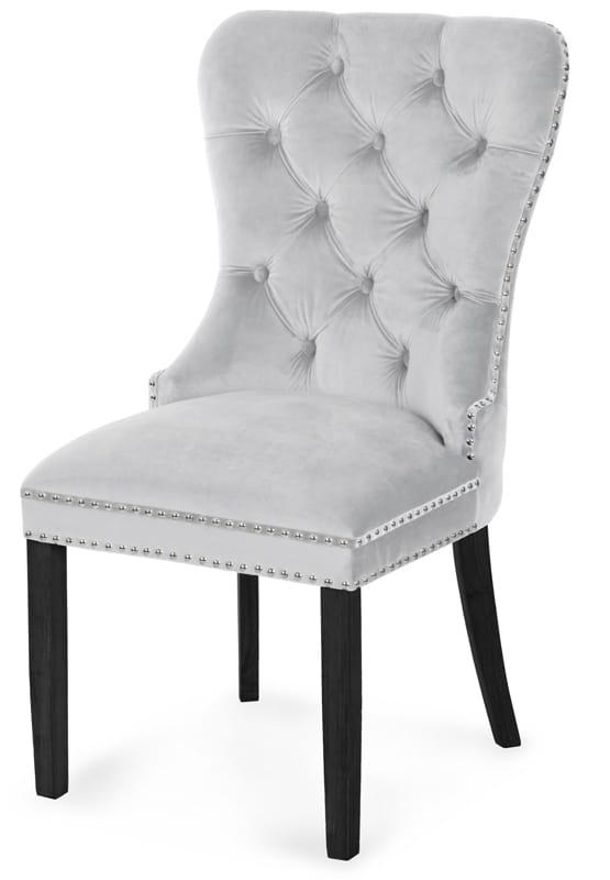 Ogromny Krzesło MADAME-noga czarna ms-meble24 VA15